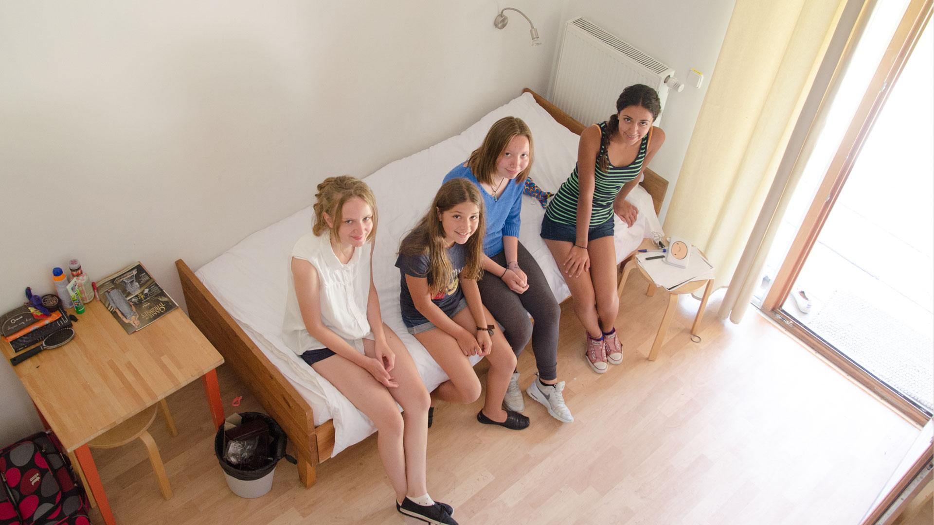 Ein Vierbett-Zimmer