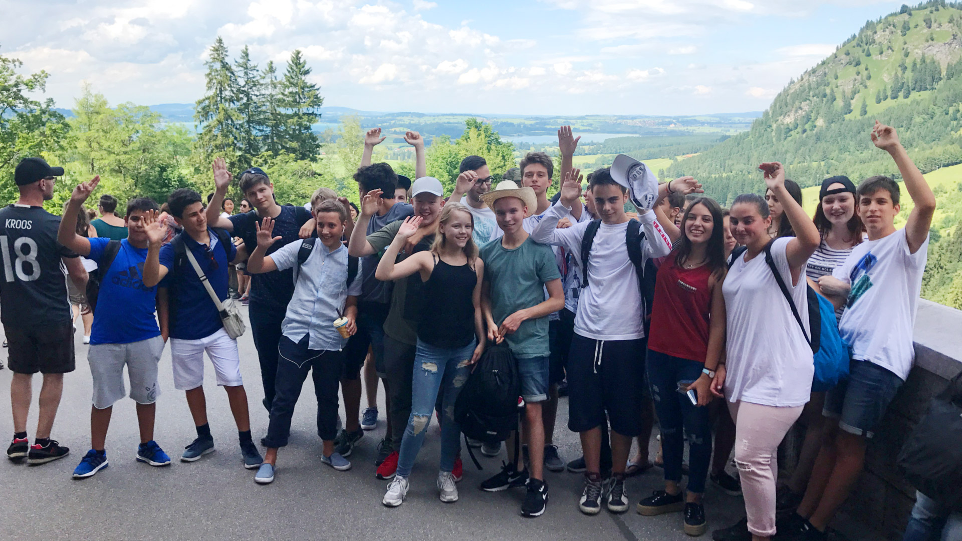 Neuschwanstein-Besuch