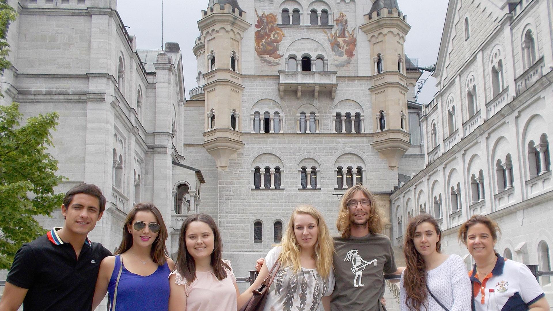 Zu Besuch auf Schloss Neuschwanstein