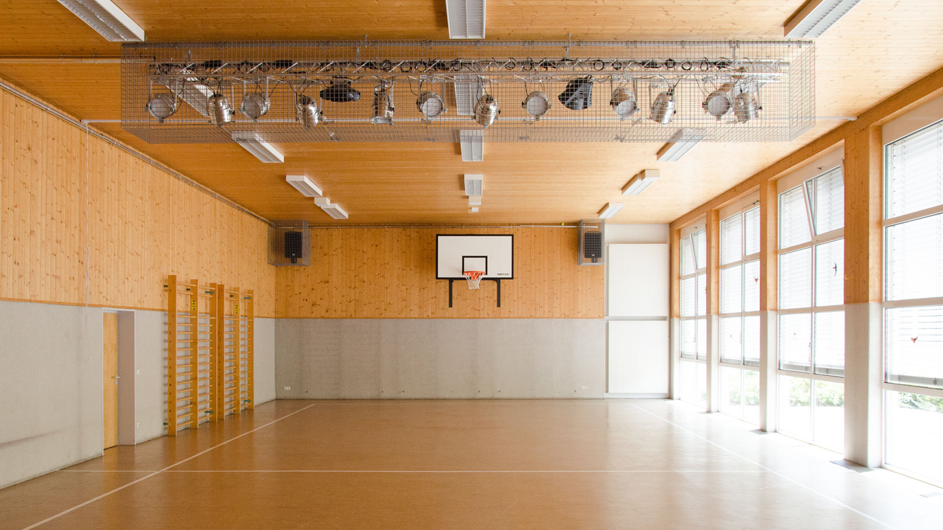 The school's gym