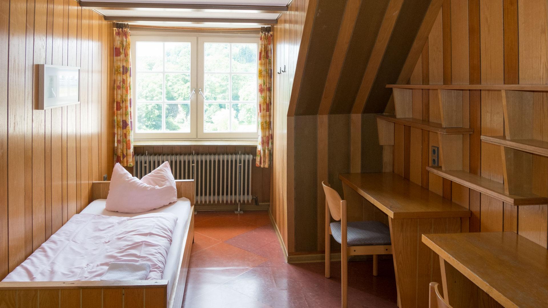 Ein Zweibett-Zimmer