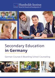 "Brochure ""Secondary Education in Germany - German Courses & Boarding School Counseling"""